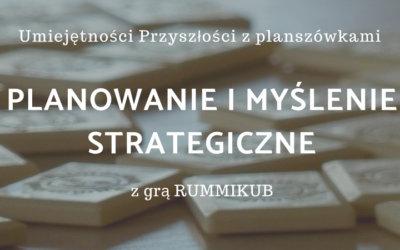 Warsztat PLANOWANIE i STRATEGIA z grą RUMMIKUB